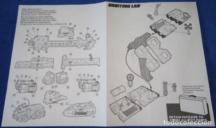 Juguetes antiguos: Mega-Rig - Base Espacial con motor - Laboratorio Orbital - Matchbox - Mattel (1998) - Foto 10 - 271660543