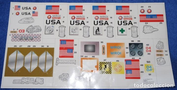 Juguetes antiguos: Mega-Rig - Base Espacial con motor - Laboratorio Orbital - Matchbox - Mattel (1998) - Foto 12 - 271660543