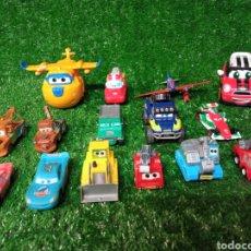Brinquedos antigos: LOTE 15 VEHÍCULOS DISNEY PIXAR CARS DIFERENTES MARCAS. Lote 275864293
