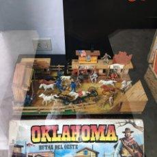 Juguetes antiguos: OKLAHOMA RUTAS DEL OESTE, COMANSI. Lote 276387773