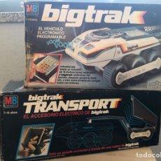 Brinquedos antigos: BIG TRAK + TRANSPORTE MB ELECTRONICS. Lote 276959333