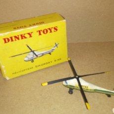 Juguetes antiguos: DINKY TOYS. HELICOPTERO SIKORSKY S.58 DE SABENA. CAJA ORIGINAL.. Lote 278167468