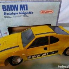 Brinquedos antigos: BMW M1 TELEDIRIGIDO DE JOUSTRA TIPO RICO PAYA. Lote 289367358