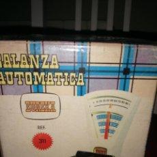 Juguetes antiguos: ANTIGUA BALANZA AUTOMATICA EUREKA. Lote 289869873