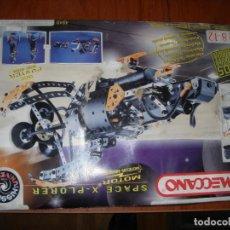 Brinquedos antigos: MECCANO 4840 SPACE X-PLORER LEER. Lote 292562778