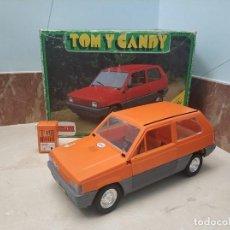 Brinquedos antigos: BONITO COCHE SEAT PANDA DE COMANSI - TOM Y CANDY - EN SU CAJA AÑOS 80. Lote 293895148