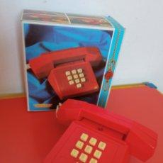 Juguetes antiguos: TELÉFONO SONORO TIMBRE (20×20).MOLTÓ 80S.SIN USO,EN CAJA.VER ESTADO.. Lote 295309533