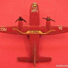 Brinquedos antigos: AVIÓN METAL AVIOCAR DE ICONA C212 ICONA DE PILEN. Lote 295419708