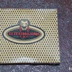 Juguetes antiguos: TEATRO DE LOS NIÑOS - C.B.N. NUALART - INDUSTRIAS GRAFICAS SEIX BARRAL - AÑOS 20 - 30 - COMPLETO. Lote 295538083