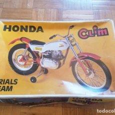 Brinquedos antigos: HONDA TRIALS TEAM MARCA CLIM. Lote 295592598