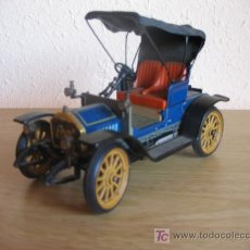 Juguetes antiguos de hojalata: (S-1)COCHE SCHUCO OPEL 1228 MODELO 1909 MADE IN GERMANY. Lote 5315652