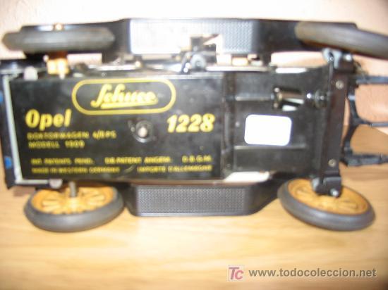 Juguetes antiguos de hojalata: (S-1)COCHE SCHUCO OPEL 1228 Modelo 1909 MADE IN GERMANY - Foto 3 - 5315652