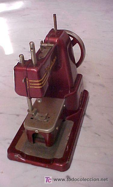 Juguetes antiguos de hojalata: maquinita de coser - Foto 2 - 26741464