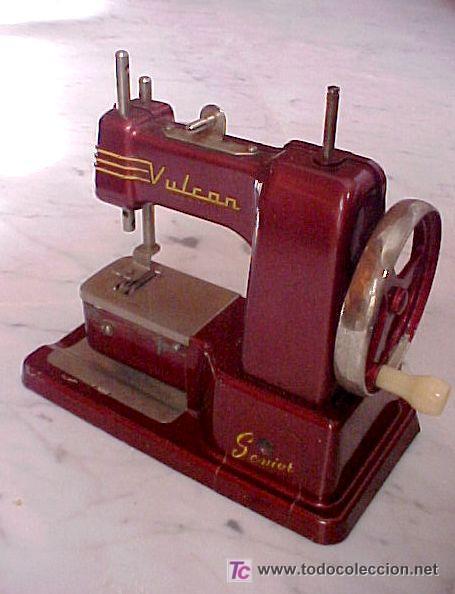 Juguetes antiguos de hojalata: maquinita de coser - Foto 3 - 26741464