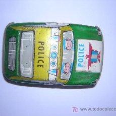 Juguetes antiguos de hojalata: COCHE DE HOJALATA MARCA PAYVA, NO FUNCIONA HAY QUE REPARAR. Lote 25937744