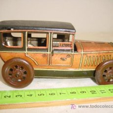 Juguetes antiguos de hojalata: COCHE TAXI DE RICO . Lote 27034484