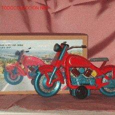 Juguetes antiguos de hojalata - moto de hojalata - 25846400