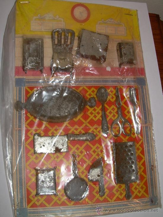 Carton con utensilios de cocina comprar juguetes for Utensilios de cocina viejos