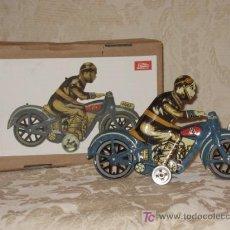 Juguetes antiguos de hojalata: PAYA MOTO. Lote 26734103