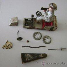 Juguetes antiguos de hojalata: TUT TUT DE LEHMANN (DESPIECE). Lote 22410994