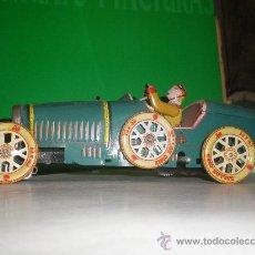 Juguetes antiguos de hojalata: COCHE DE HOJALATA A FRICCION BALLON CORD 13 X 43. Lote 24020215