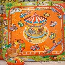 Juguetes antiguos de hojalata - PISTA CARRUSEL DE PAYVA - 21183488