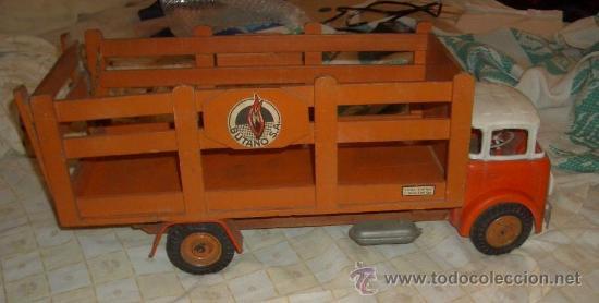 Cami n de butano de madera a os 50 comprar juguetes - Juguetes antiguos de madera ...