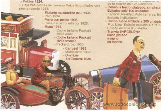 Juguetes antiguos de hojalata: GRAN COLECCION DE JUGUETES PAYA. SERIES NUMERADAS Y AGOTADAS - Foto 3 - 21265720
