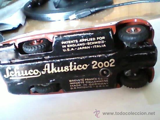 Juguetes antiguos de hojalata: SCHUCO COCHE AKUSTICO 202 FUNCIONANDO - Foto 4 - 27128140