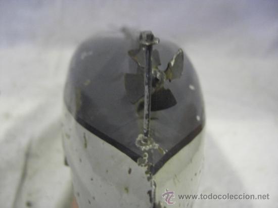 Juguetes antiguos de hojalata: Barco. Crucero. Acorazado. Juguete Alemán. Fabricado por BING. Hojalata. - Foto 16 - 26651974