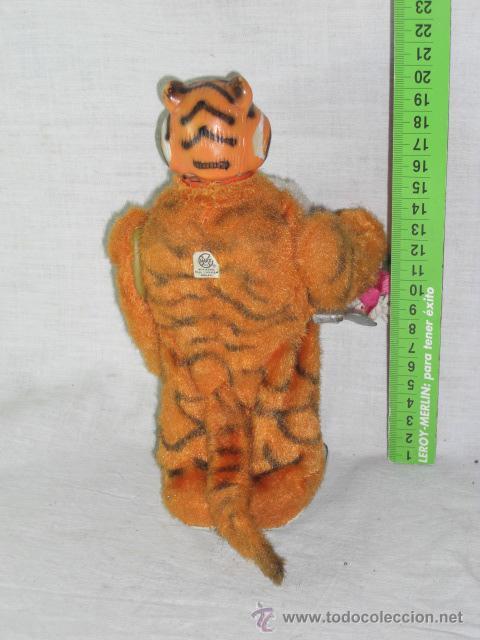 Juguetes antiguos de hojalata: Tigre. Hojalata. Fabricado en Japón. Japan. Mark toys 1966. - Foto 4 - 27244506