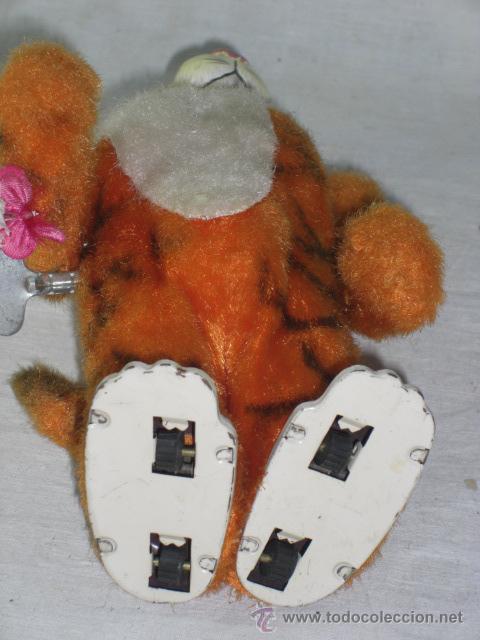Juguetes antiguos de hojalata: Tigre. Hojalata. Fabricado en Japón. Japan. Mark toys 1966. - Foto 7 - 27244506