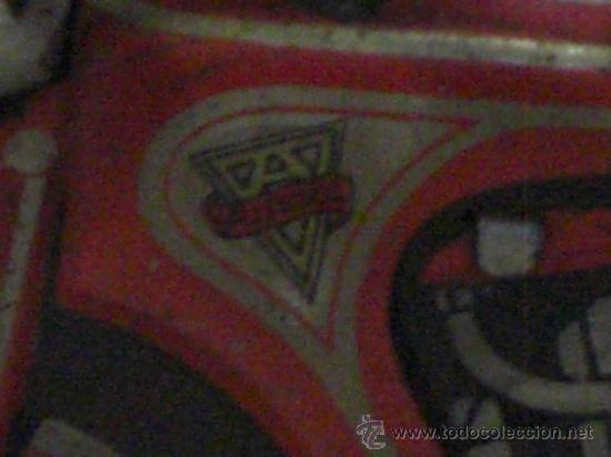 Juguetes antiguos de hojalata: Moto fabricada en Alemania. Union Cord. A 643. Arnold. Hojalata. - Foto 11 - 26829868