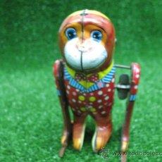 Juguetes antiguos de hojalata: MY - NO.5545 --MONO DE HOJALATA A CUERDA---. Lote 24327151