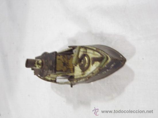 Juguetes antiguos de hojalata: Barco pequeño muy antiguo. Años 1900 / 1920. Posible Marklin ¿¿??. - Foto 3 - 26598333