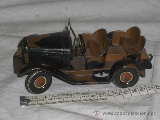 Juguetes antiguos de hojalata: Juguete Aleman. Made in Germany. Coche de la casa TIPPCO. - Foto 8 - 26467631