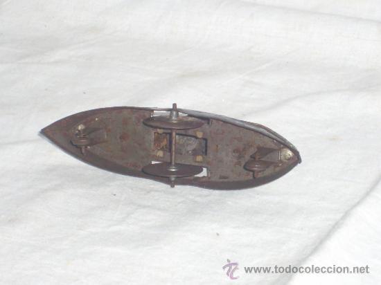 Juguetes antiguos de hojalata: Barco pequeño muy antiguo. Años 1900 / 1920. Posible Marklin ¿¿??. - Foto 19 - 26598333