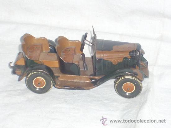 Juguetes antiguos de hojalata: Juguete Aleman. Made in Germany. Coche de la casa TIPPCO. - Foto 2 - 26467631