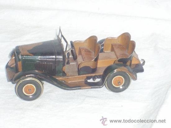 Juguetes antiguos de hojalata: Juguete Aleman. Made in Germany. Coche de la casa TIPPCO. - Foto 3 - 26467631