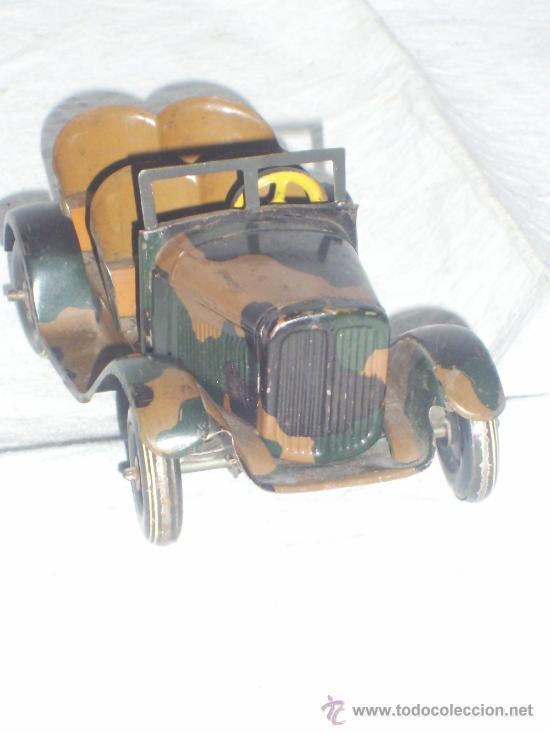 Juguetes antiguos de hojalata: Juguete Aleman. Made in Germany. Coche de la casa TIPPCO. - Foto 4 - 26467631