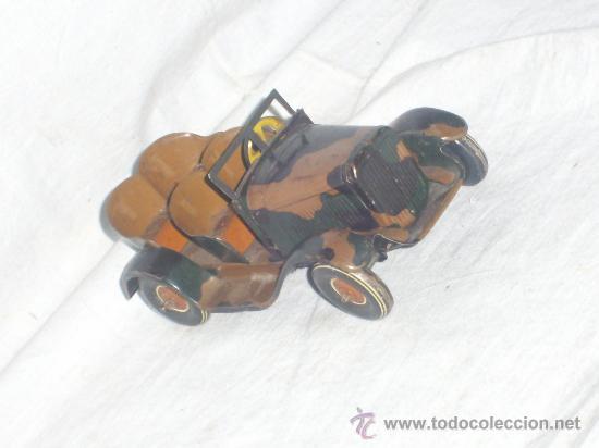 Juguetes antiguos de hojalata: Juguete Aleman. Made in Germany. Coche de la casa TIPPCO. - Foto 5 - 26467631