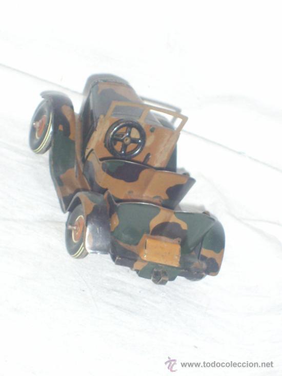 Juguetes antiguos de hojalata: Juguete Aleman. Made in Germany. Coche de la casa TIPPCO. - Foto 6 - 26467631