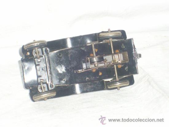 Juguetes antiguos de hojalata: Juguete Aleman. Made in Germany. Coche de la casa TIPPCO. - Foto 7 - 26467631