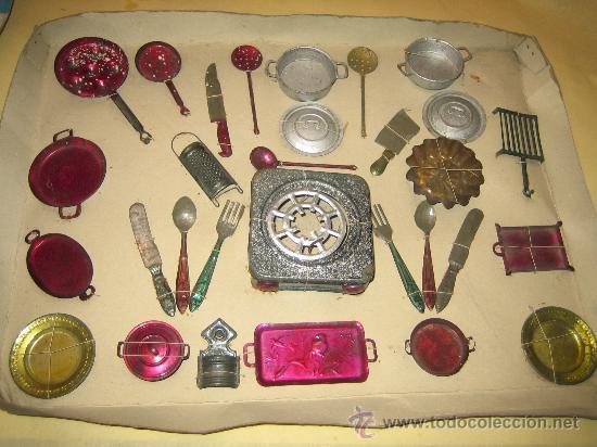 Antiguos utensilios de cocina de hojalata a o comprar for Utensilios antiguos de cocina