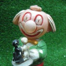 Juguetes antiguos de hojalata: PAYASO. Lote 25785480