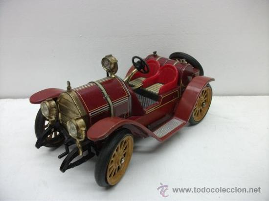 Juguetes antiguos de hojalata: PRECIOSO COCHE SCHUCO - Foto 2 - 52724634
