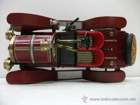 Juguetes antiguos de hojalata: PRECIOSO COCHE SCHUCO - Foto 5 - 52724634