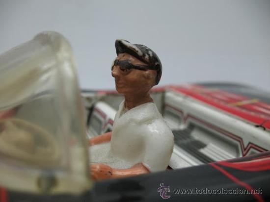 Juguetes antiguos de hojalata: PRECIOSO COCHE FUTURISTA AUTO-ECOLE - Foto 5 - 27854254