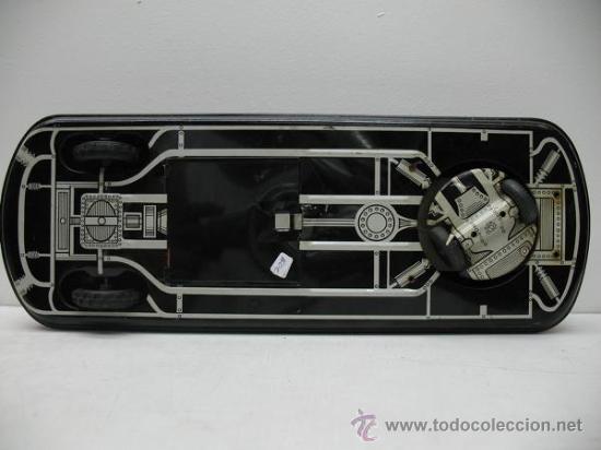 Juguetes antiguos de hojalata: PRECIOSO COCHE FUTURISTA AUTO-ECOLE - Foto 7 - 27854254