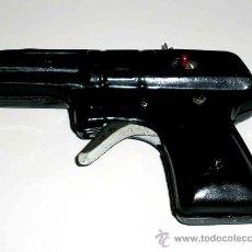 Altes Blechspielzeug - Pistola fabricada en lata, desconozco fabricante, posiblemente Jyesa, original años 50. Funciona. - 28011159